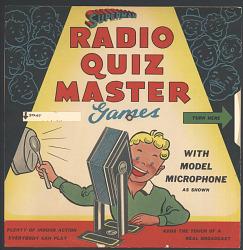 Superman Radio Quiz Master Games