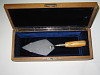 thumbnail for Image 1 - Ceremonial trowel - one of three fabricated for use by President Eisenhower and dignitaries in dedication of U.S. Atomic Energy Commission's headquarters building, Germantown, MD on November 8, 1957