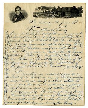 Letter, 1840