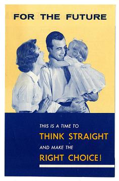 Campaign Pamphlet, 1960