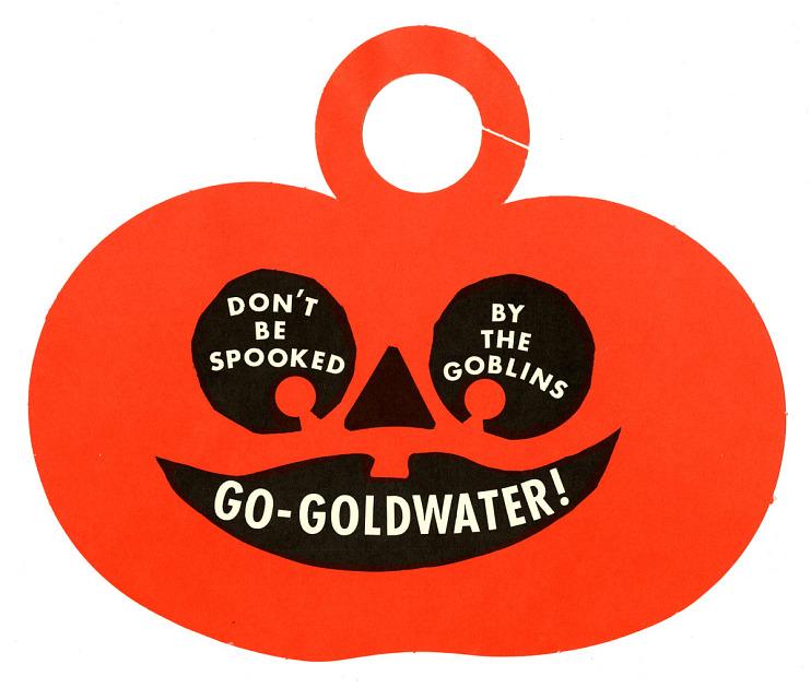 Goldwater Campaign Door Hanger, 1964