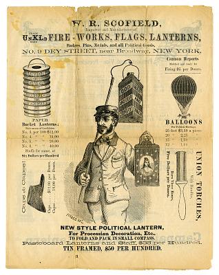 Campaign Trade Literature, 1868