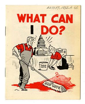 Campaign Pamphlet, 1952