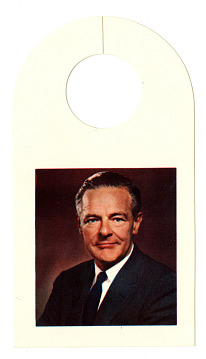 Lodge Campaign Door Hanger, 1960