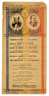Republican Ballot, 1878