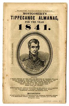 Tippecanoe Almanac, 1841