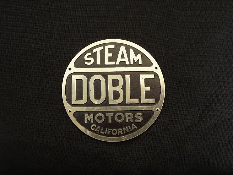 Doble Steam Motors Company Manufacturer's Emblem