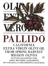 Pallido California Extra Virgin Olive Oil Poster