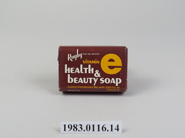 Rugby Vitamin E Health And Beauty Soap