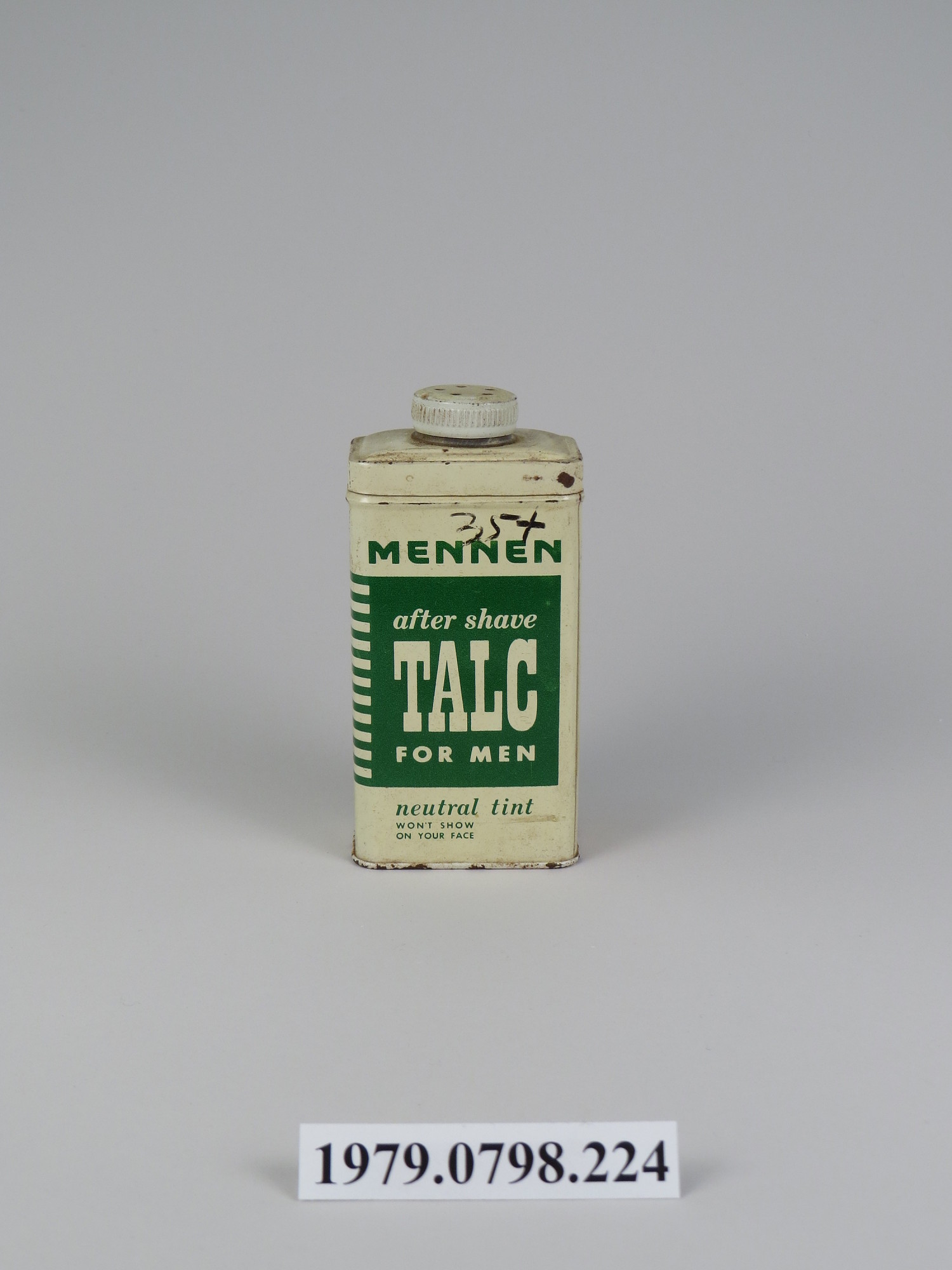Completely new Mennen After Shave Talc for Men | National Museum of American History CU68