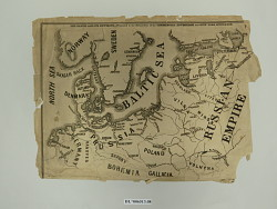 """Map, """"The Baltic and Its Environs"""""""