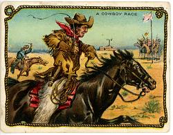 A Cowboy Race