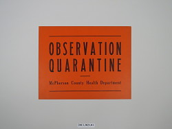 Observation Quarantine - McPherson County Health Department