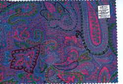 """Armistice Silk,"" Paisley prints"