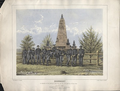 Monument/In Memory of the Patriots who fell in the first Battle of Bull Run/July 21, 1861