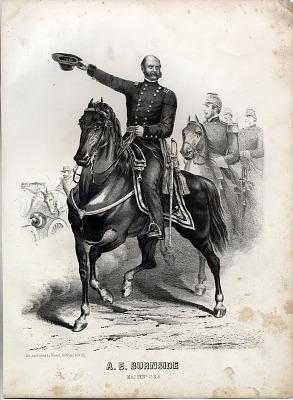 A. E. Burnside/ Major General USA