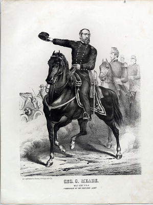 George G. Meade/ Major General USA/ Commander of the Potomac Army