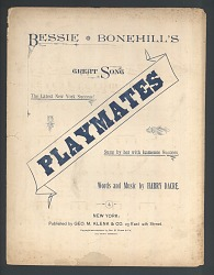 """Playmates"""