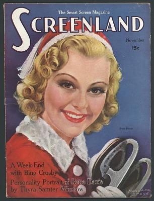 Screenland Magazine, November 1937