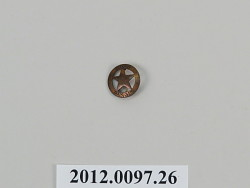 Miniature Texas Ranger Badge