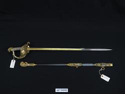 "M.C. Lilley & Co. Presentation Sword, Inscribed ""Presented to Lieut. Aruthur Lee Willard 1904"""