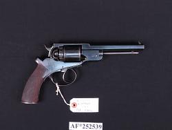 J. Adams Patent Model Double Action Revolver