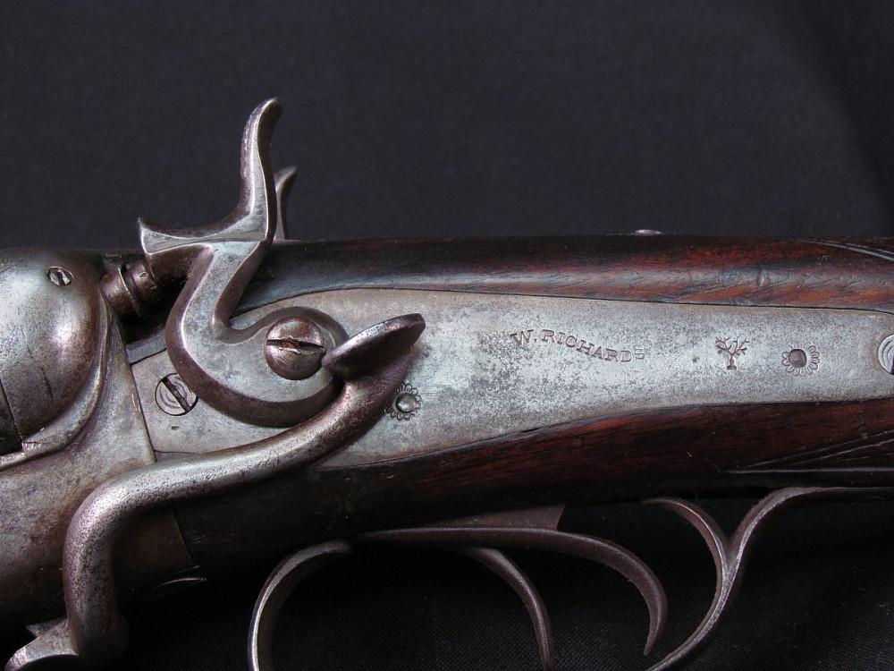 W richards 12 gauge double barrel shotgun