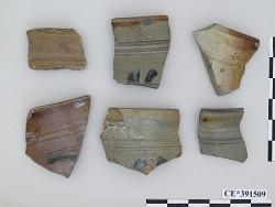 fragments, stoneware