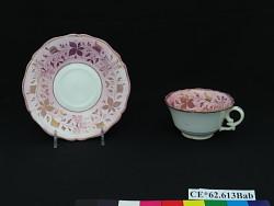 teacup; saucer
