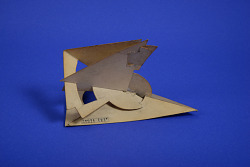 Geometrical Model of A. Harry Wheeler, Supplementary Trihedral Angles