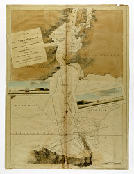 chart of New York Harbor