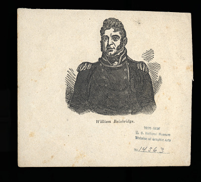 William Bainbridge (above); Edward Preble (below)