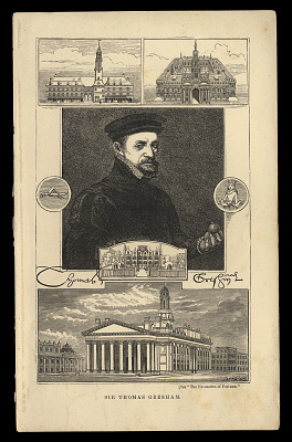 Portrait of Sir Thomas Gresham