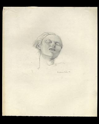 Head of Sleeping Woman