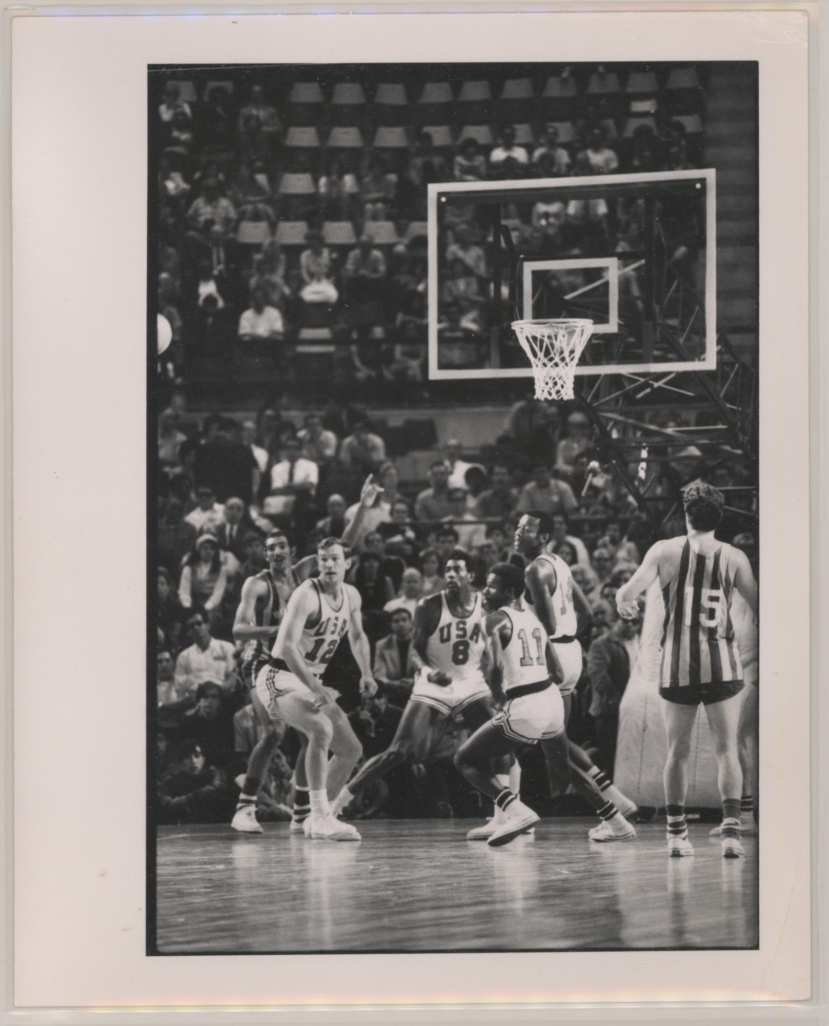 images for 1968 Olympics - USA vs. Brazil - men's basketball