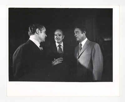 George McGovern, Thomas Eagleton and Sargent Shriver