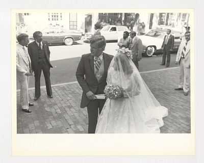 Ted Kennedy at Courtney Kennedy wedding