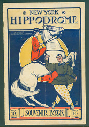 New York Hippodrome Souvenir Program