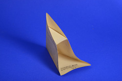 Geometric Model by A. Harry Wheeler, Trihedral Angle