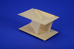 Geometric Model by A. Harry Wheeler, Two Angles and Two Planes