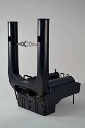Crawford's Patent Model of Steam Boiler Furnace– ca 1849