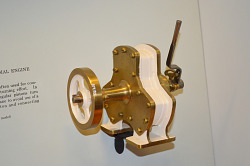 Higginson's Patent Model of a Radial Steam Engine - 1877