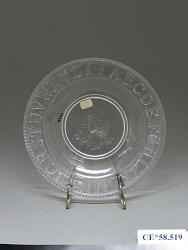 """Alphabet"" Plate"
