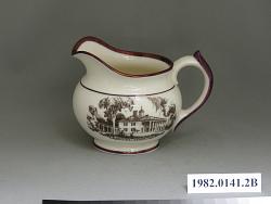 pitcher, cream