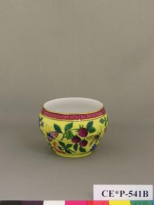 Russian porcelain sugar bowl (part of a service)