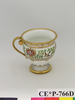 Sevres porcelain cup