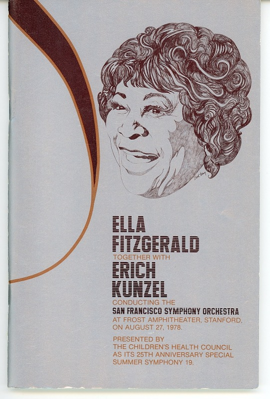Image 1 for Program: Ella Fitzgerald Together with Erich Kunzel