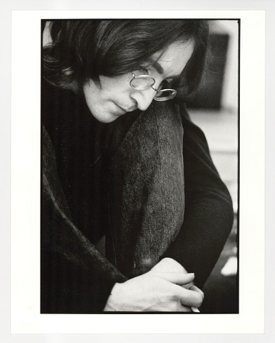 Image for John Lennon Listening to the White Album