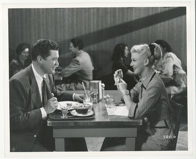 Dennis Morgan and Ginger Rogers in