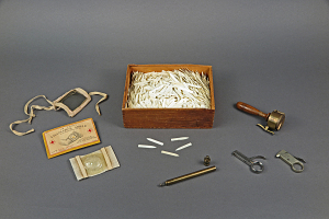 images for Wooden Box of Ivory Points Used for Smallpox Vaccination-thumbnail 12